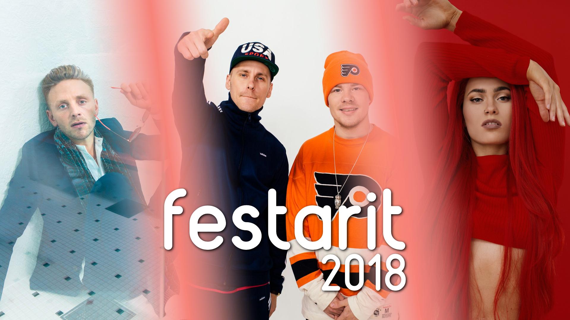Reino Nordin Pohjois-Suomen festarikuningas!