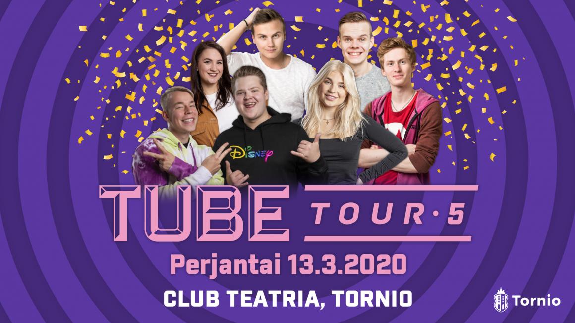 TORNION KAUPUNGIN TUBETOUR -TAPAHTUMA SIIRTYY CLUB TEATRIALLE