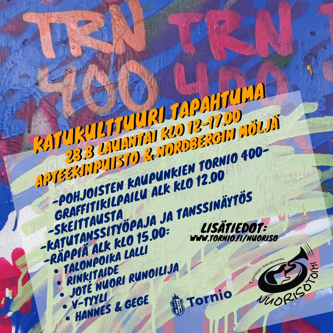 TRN400 – Katukulttuuri Tapahtuma